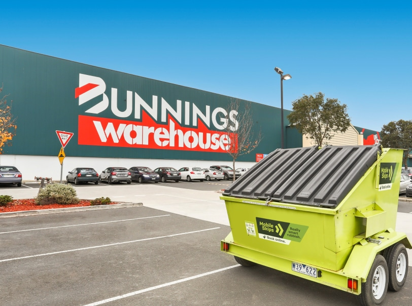 Hire a Skip bins from Bunnings stores in Adelaide - Central and Hills