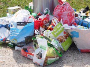 Household garbage