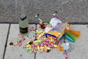 party rubbish